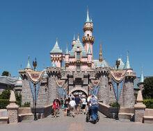 Sleeping Beauty Castle Disneyland Anaheim 2013