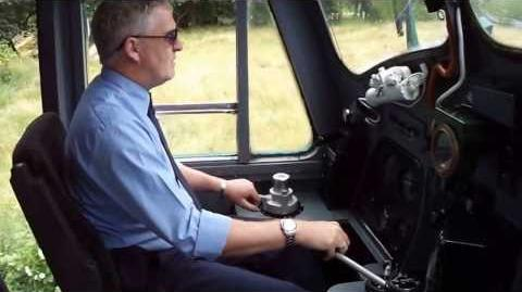 Class 37 Cab Ride in 6940 at the Llangollen 1960's Gala July 2013 - HD Video