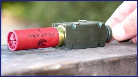 Shotgun Shell exploding OUTSIDE a gun - What Happens?