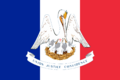 Flag of Louisiana (A better world (TL))