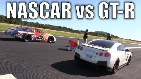 NASCAR takes on a GT-R, Porsche, Roush Mustang