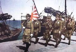 Kwangchowan Japanese military occupation 1943