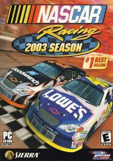 NASCAR Racing 2003 Season boxart