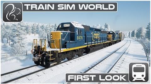 Train Sim World - First look (Beta Footage) CSX Heavy Haul