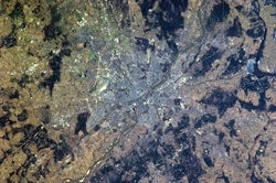 WarsawFromTheISS