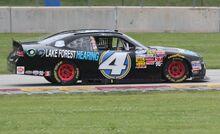 4 Jeffrey Earnhardt passenger side NASCAR Nationwide 2014 Gardner Denver 200 at Road America
