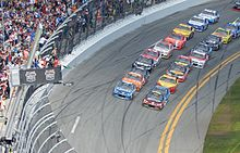 Green flag at Daytona