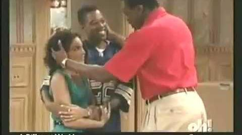 A Different World 6x25 - Whitley and Dwayne's moms friends throw them a surprise party