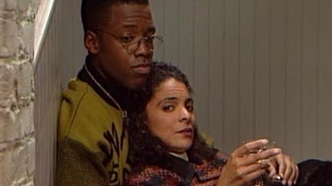 A Different World 5x05 - Dwayne and Whitley spend their anniversary at the pit