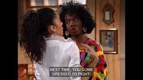 A Different World 4x21 - Whitley fights with Kim