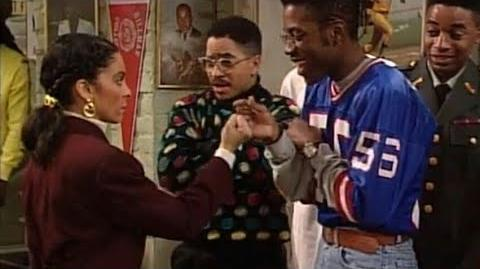 A Different World 4x16 - Dwayne dares Whitley to stay quiet for a whole day