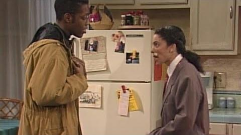 A Different World 4x17 - Whitley wears a disguise to spy on Dwayne