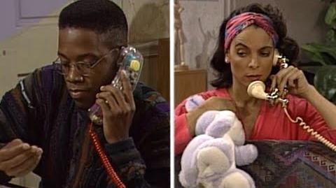 A Different World 5x18 - Whitley calls Dwayne to talk