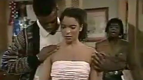 A Different World 3x07 Dwayne expressing his feelings for Whitley