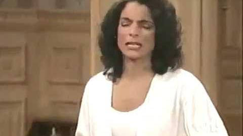 A Different World 6x22 - Whitley complains to Dwayne about her students