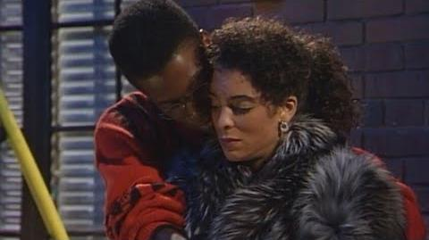 A Different World 4x04 - Dwayne Comforting Whitley