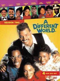 A Different World Season 2 DVD