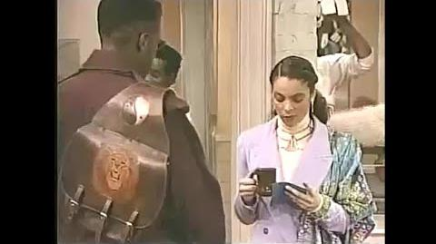A Different World 5x11 - Whitley and Dwayne's first encounter after their break-up