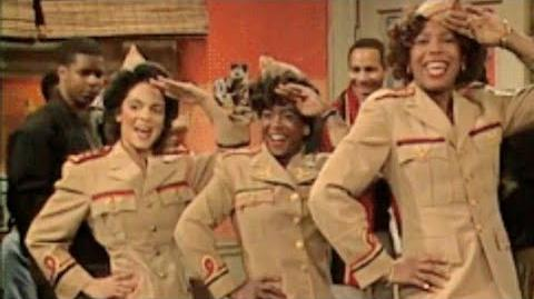 A Different World 4x12 - Whitley, Kim and Jaleesa perform a musical number