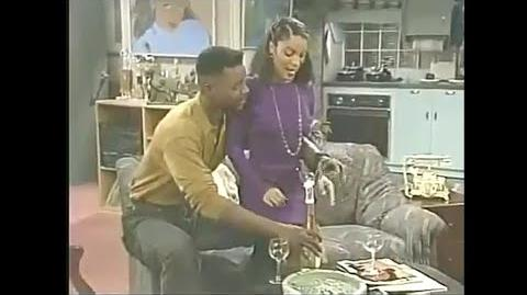 A Different World 5x15 - Whitley and an ex-con go on a date