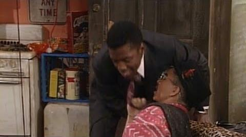A Different World 3x01 - Dwayne and Ron argue over Whitley