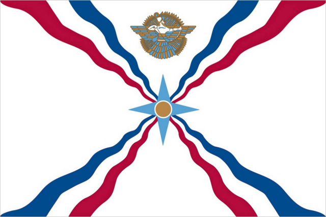 File:Assyrian Flag.png