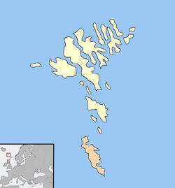 Faroeislandsmap