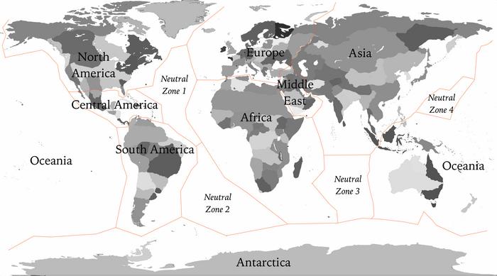 Continentsmap