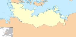 Lübeck map