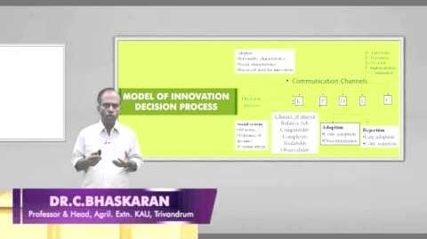 12 Stages in Adoption and Innovation -- Decision Process