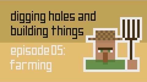 Dig Build Live Episode 5 Farming