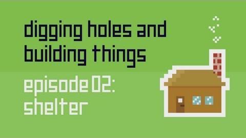 Dig Build Live Episode 2 Shelter