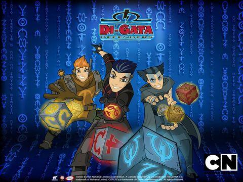 Di-GATA DEFENDERS Cartoon Network 2012