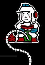 Taizo Hori (Dig Dug Official Artwork)
