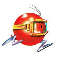 Pooka Running (Dig Dug Atari 2600 Official Artwork)