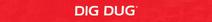 Dig Dug Atari 2600 Logo