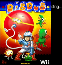 Dig Dug (Wii) Cover