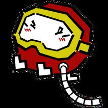 Pooka Inflating (Dig Dug Official Artwork)