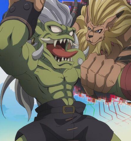 File:Digimon ogremon leomon by giuseppedirosso-d9vn5vv.jpg