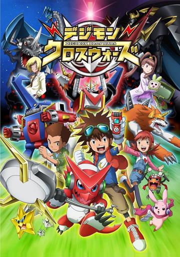 Digimon Xros Wars Poster