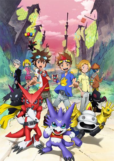 Digimon Xros Wars Os Jovens Hunters Que Saltam Através do Tempo Poster