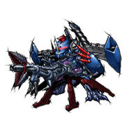 Metalgreymon CyberLauncher b