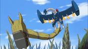 MailBirdramon + Golemon