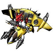 Shoutmon + Jet Sparrow b