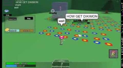 Roblox Digimon Aurity Palmon boss glitch