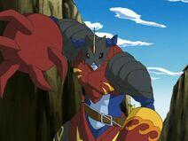 Digimon bandit Sagittarimon