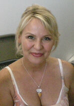 American voice actress Wendee Lee