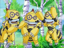 Three Honeybeemon