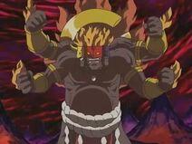 Asuramon's angry