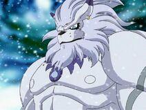 Ice Area's guardian IceLeomon